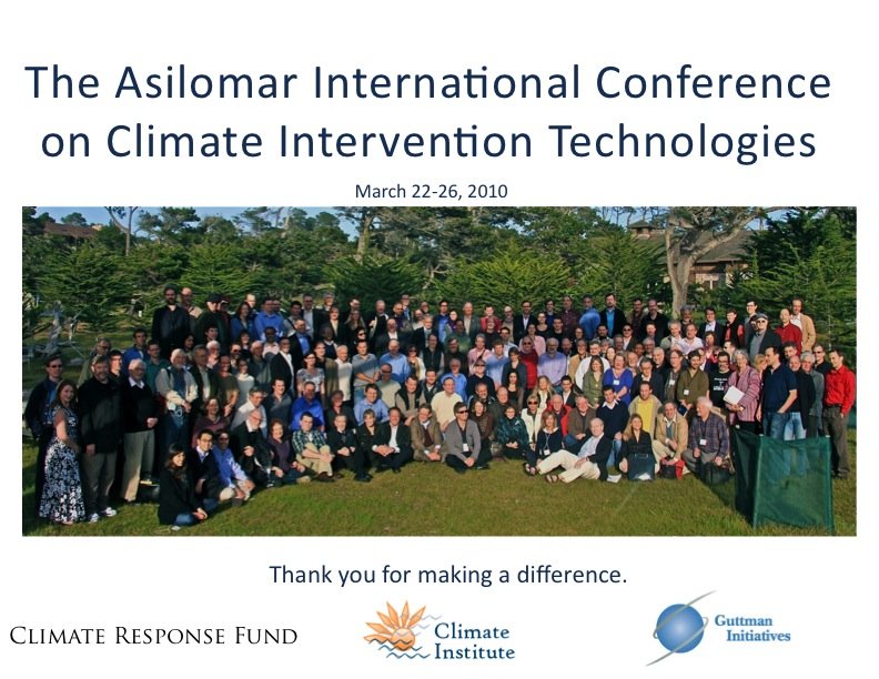 Conference Participants at Asilomar